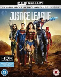 Justice League ? [4k Ultra HD + Blu-ray]