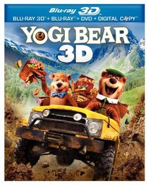 Yogi Bear (Three-Disc Combo: Blu-ray 3D / Blu-ray / DVD / Digital Copy)