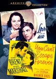 You Can't Escape Forever/Love Is On The Air  (2 Disc)