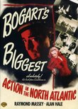 Action in the North Atlantic - Authentic Region 1 DVD from Warner Brothers starring Humphrey Bogart, Raymond Massey & Alan Hale