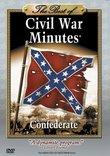 The Best of CIVIL WAR MINUTES - Confederate DVD