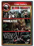 Maneater Triple Feature: Maneater/In the Spider's Web/Blood Monkey