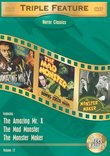 Horror Classics Triple Feature, Vol. 12 (The Amazing Mr. X / The Mad Monster / The Monster Maker)