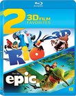 Rio / Epic Double Feature Blu-ray 3d