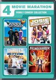 4 Movie Marathon: Family Comedy Collection (Adventures of Rocky & Bullwinkle / Josie and the Pussycats / McHale's Navy / Thunderbirds)