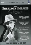 The Sherlock Holmes Collection, Volume One (Sherlock Holmes and the Voice of Terror /Sherlock Holmes and the Secret Weapon /Sherlock Holmes In Washington /Sherlock Holmes Faces Death)
