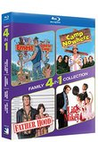 Blu-ray Family 4-pack - ERNEST GOES TO CAMP/CAMP NOWHERE & FATHER HOOD/LIFE WITH MIKEY