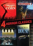 4 Horror Classics (Children of the Corn / Creepshow 2 / House / C.H.U.D.)