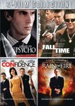 Four-Film Collection (American Psycho / Fall Time / Confidence / Rain of Fire)