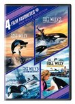 Free Willy Collection: 4 Film Favorites (Free Willy / Free Willy 2 The Adventure Home / Free Willy 3 The Rescue / Free Willy Escape from Pirate's Cove)