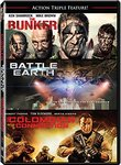 Action Triple Feature Volume 2 (Battle Earth/The Bunker/The Colombian Connection)