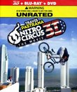 Nitro Circus 3D The Movie Combo Pack (Blu-Ray 3D/Blu-Ray/DVD) UNRATED EDITION