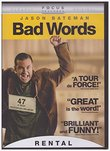 Bad Words (Dvd,2014) Rental Exclusive