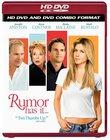 Rumor Has It... (Combo HD DVD and Standard DVD)