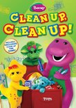 Barney: Clean Up Clean Up DVD