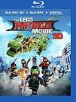 The Lego Ninjago Movie 3D [Blu-ray]