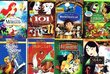 The Best of Disney Collection (8 Pack, 13-Discs): The Little Mermaid / The Sword In The Stone / The Jungle Book / Hercules / Ratatouille / 101 Dalmatians / Mulan / Pocahontas (Total 11 hrs 31 min)