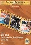 Western Classics Triple Feature, Vol. 3 (Rollin' Plains / Arizona Days / Mystery of the Hooded Horsemen)