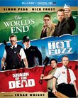 The World's End, Hot Fuzz, Shaun of the Dead Trilogy [Blu-ray]