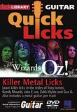 Killer Metal Licks (The Wizards of Oz!) - Quick Licks