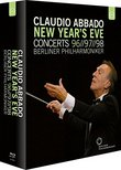 Claudio Abbado New Year's Eve Concerts Box [Blu-ray]