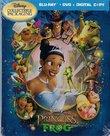 Princess and the Frog Blu-ray IronPack [Blu-ray+DVD+Digital Copy]