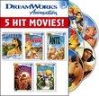 Dreamworks Animation Award-Winning Family Fun Pack (Spirit, The Prince of Egypt, Antz, Chicken Run, The Road to El Dorado)