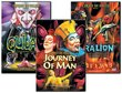 Cirque du Soleil 3-Pack (Quidam / Dralion / Journey of Man)
