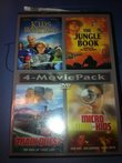 4 Pk: Kids of the Round Table / The Jungle Book Search for the Lost Treasure / Train Quest. The Ride of Your Life / Micro Mini-Kids