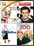 Marley & Me / Mr Popper's Penguins / Mrs Doubtfire / We Bought a Zoo Quad Feature