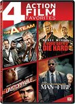 A-team, The / A Good Day to Die Hard / Unstoppable / Man on Fire Quad Feature