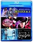 Beetlejuice / Charlie & Chocolate Factory / Corpse Bride [Blu-ray]