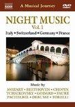 Naxos Scenic Musical Journeys Italy, Switzerland, Germany, France Night Music Vol. 1