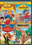 An American Tail: The Treasure of Manhattan Island / An American Tail: The Mystery of the Night Monster / The Tale of Despereaux / The Adventures of Brer Rabbit Family Fun Pack