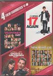 4 Film Favorites: Modern Romantic Comedies - Valentine's Day / 17 Again / Ghosts of Girlfriends Past / New Year's Eve