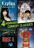 4 Horror Comedy Classics (Elvira / Transylvania 6-5000 / Return of the Killer Tomatoes / House II)