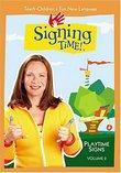 Signing Time! Volume 2: Playtime Signs DVD