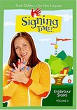 Signing Time! Volume 3: Everyday Signs DVD