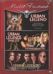 Triple Feature: Urban Legend, Urban Legends: Final Cut & Urban Legends: Bloody Mary