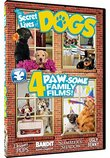 Secret Lives of Dogs - 4 Barking Good Movies - Summer's Shadow, Ugly Benny, Designer Pups, Bandit and the Saints of Dogwood