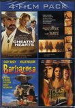 4-Film Pack: Cheatin' Hearts, South of Heaven West of Hell, Barbarosa, A Texas Funeral
