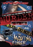 Murder a La Mod/The Moving Finger