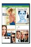 Erin Brockovich / Notting Hill / Duplicity / Charlie Wilson's War Four Feature Films
