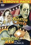The Phantom of the Opera / Indestructible Man (2-Movie Pack)
