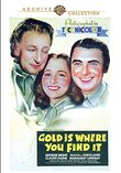 Gold Is Where You Find It DVD-R