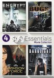 4 Sci-Fi Movies Collection (Encrypt / Bugs / Darklight / Crimson Force)