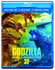Godzilla: King of the Monsters (2019) (3D Blu Ray + Blu Ray + Digital Combo Pack) [Blu Ray] [Blu-ray]