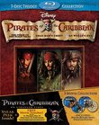 Pirates of the Caribbean Trilogy 7-Disc Set [Blu-ray]