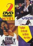Crime Broker / Hard Vice (2pc)