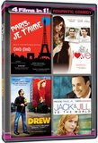 4 Movies in 1: Romantic Comedy  (Paris Je T'Aime / The Truth About Love / My Date with Drew / Jack and Jill vs. The World)